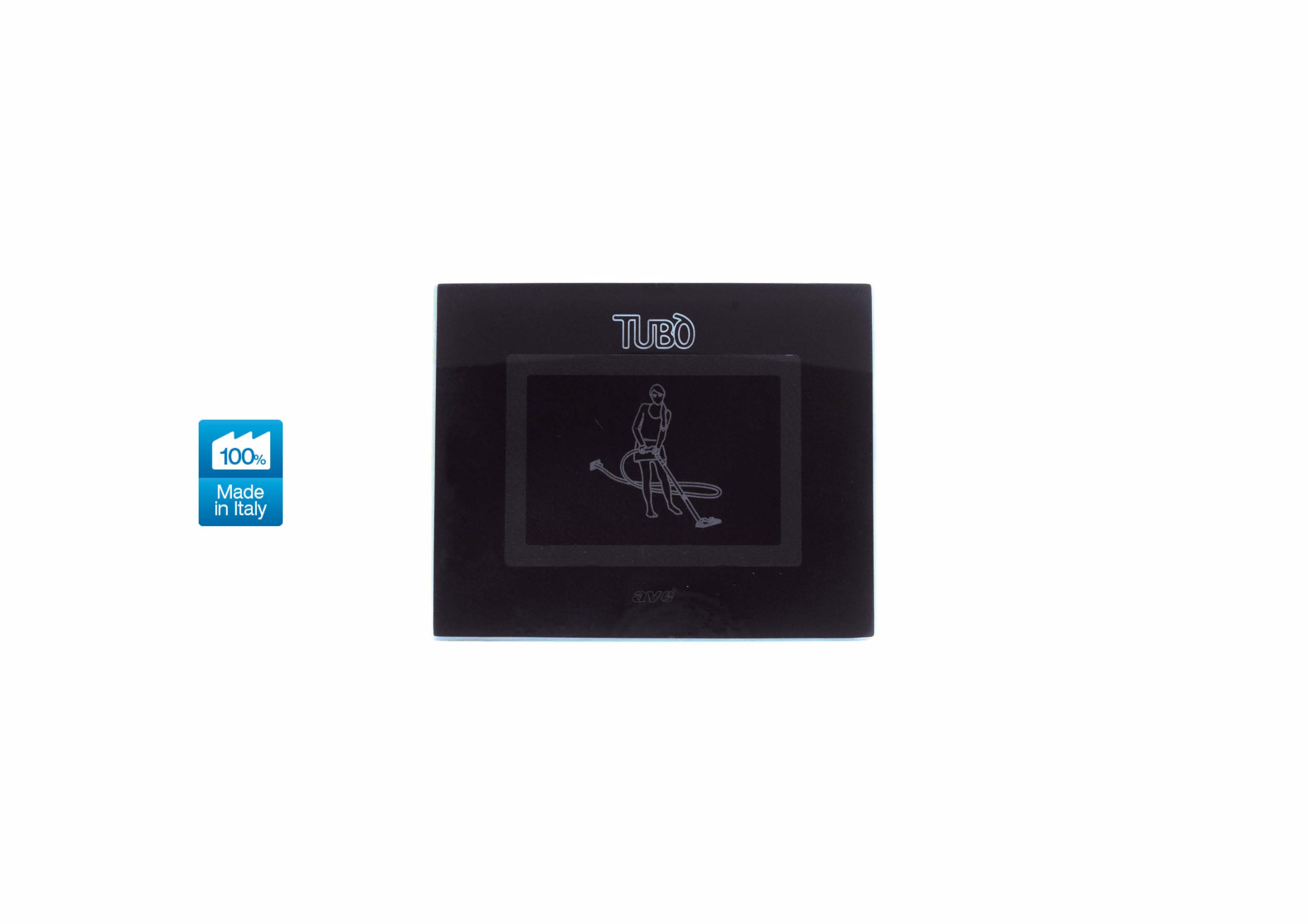 Вакуумна розетка TUBO New Air Touch, Ave Systema 44 absolute black