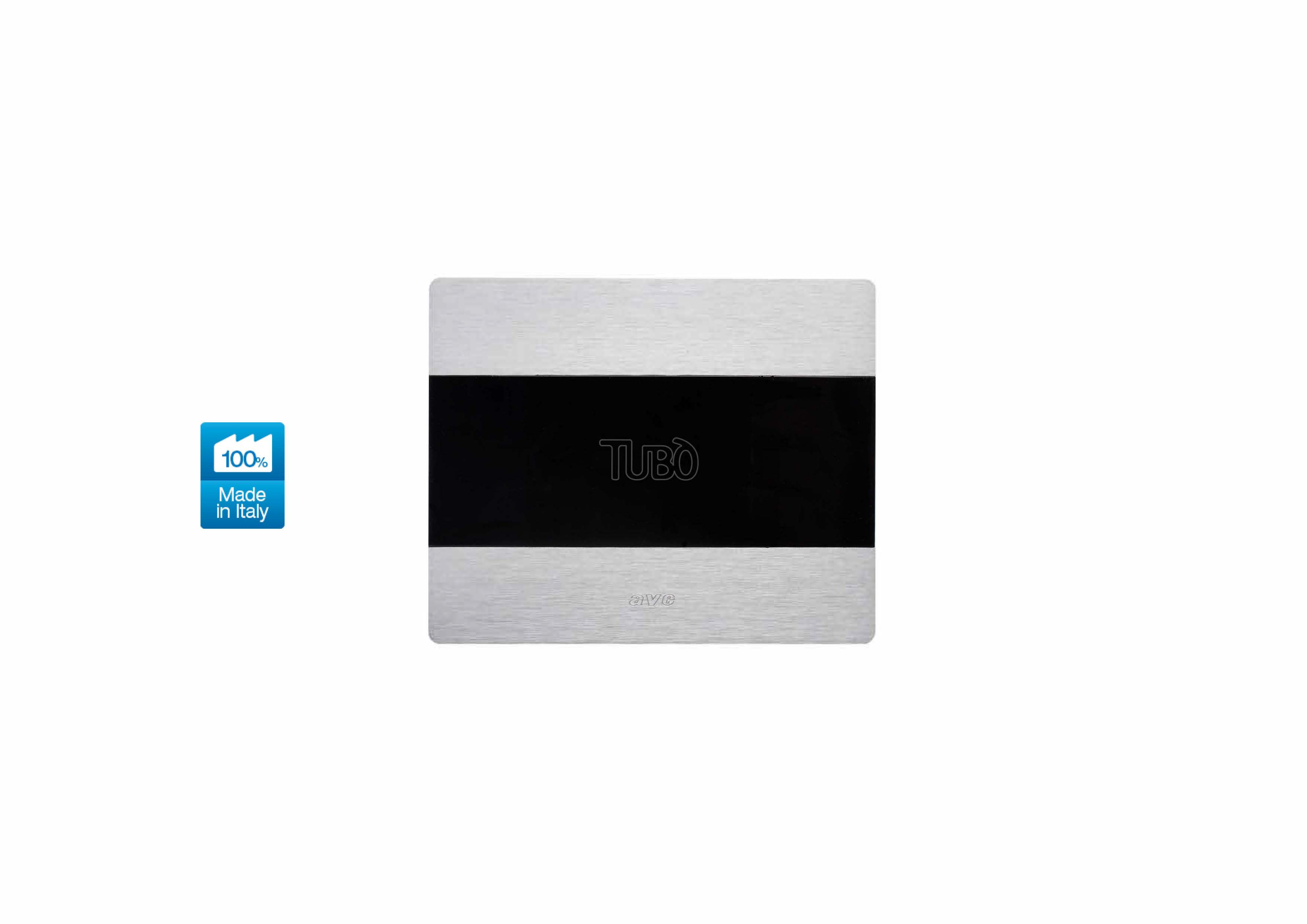 Вакуумна розетка TUBO New Air Allumia Touch, Ave Systema 44 Light