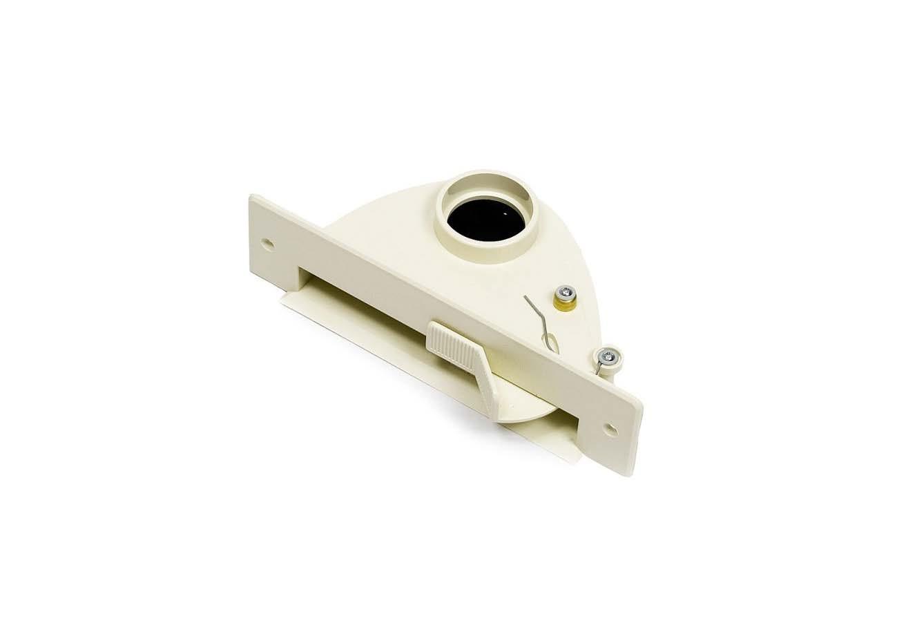 Щілинна вакуумна розетка-совок VAC PAN IVORY