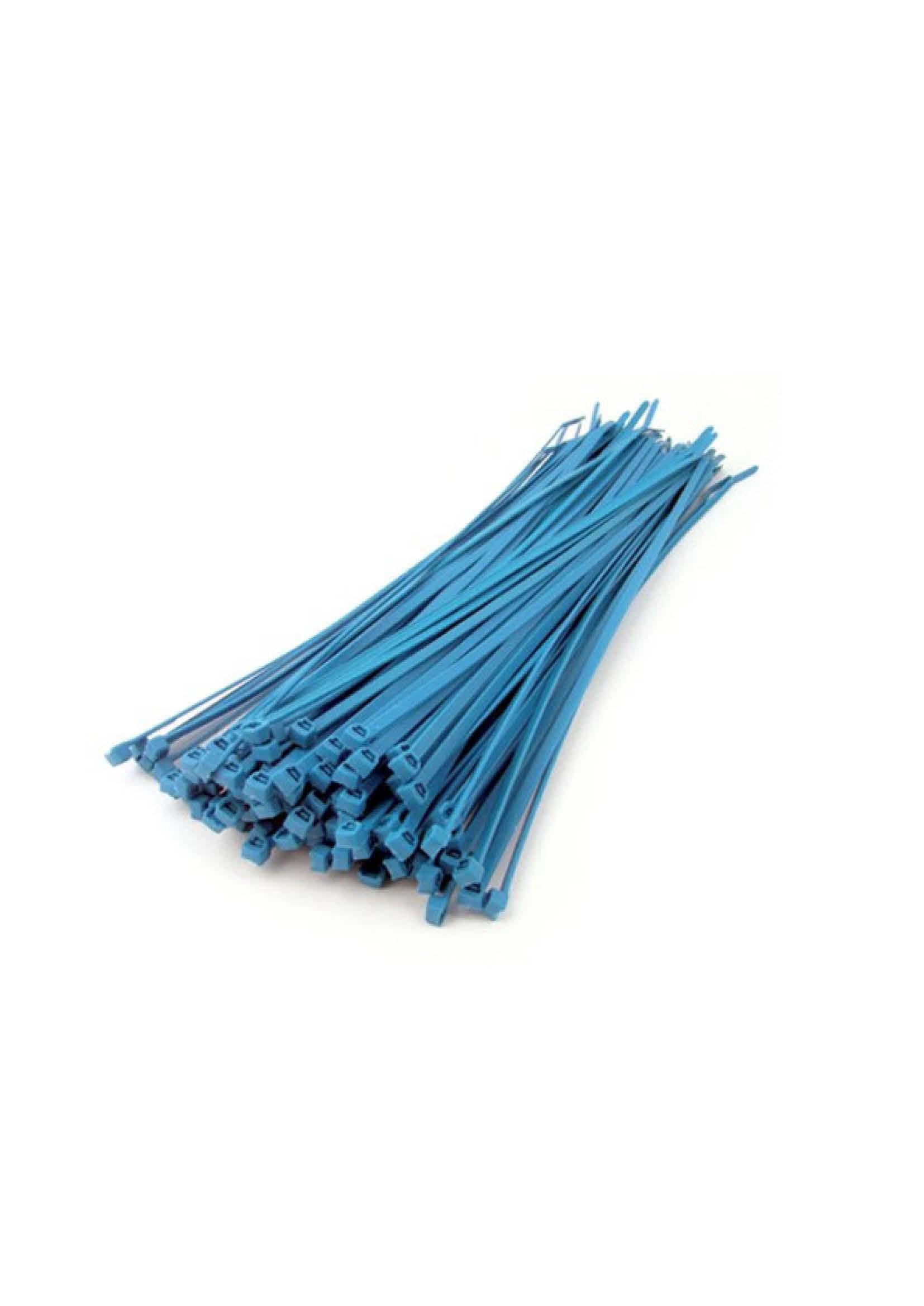 PVC хомут 30см для кріплення ел. провідника, (упаковка 100 шт.)