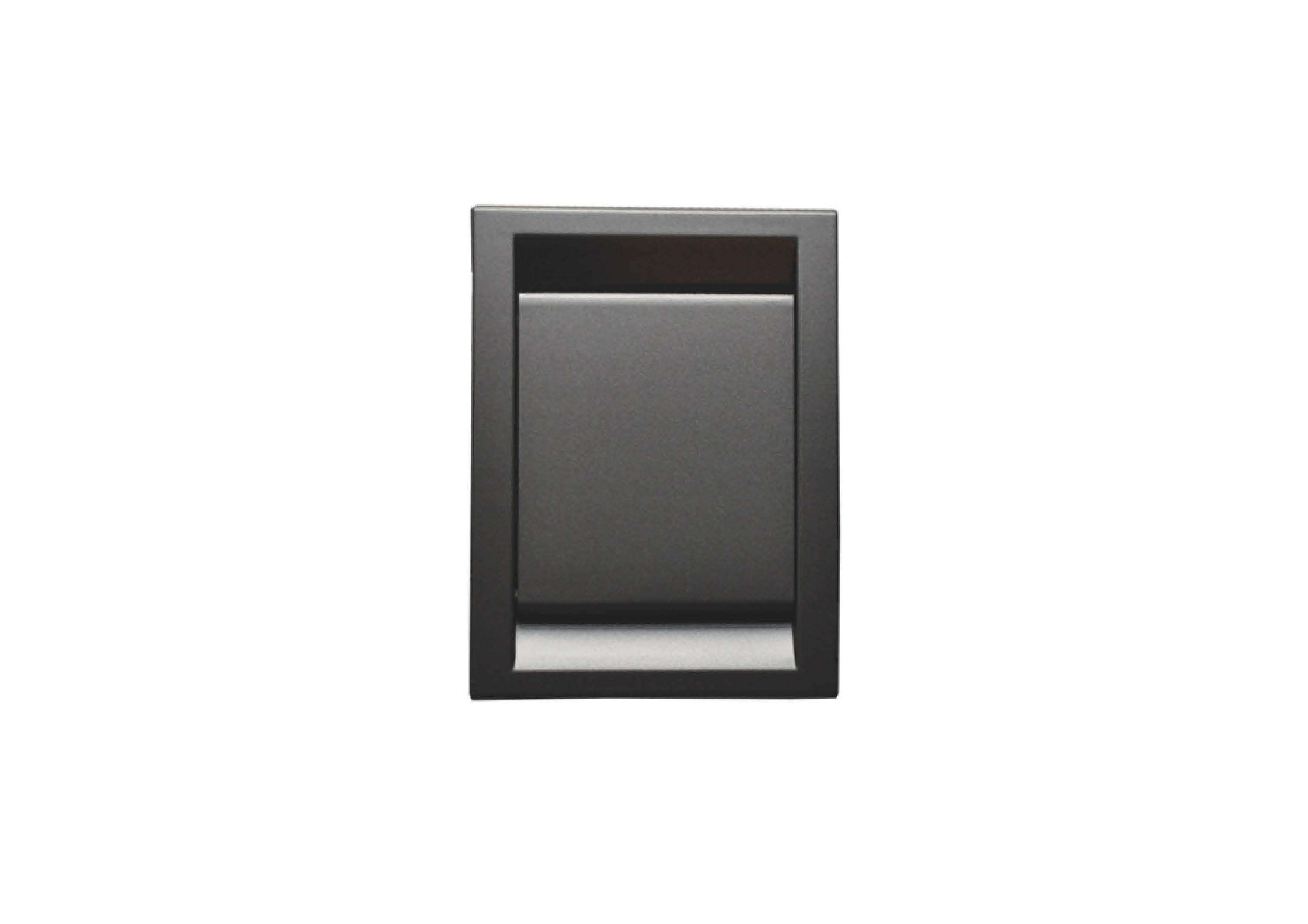 Вакуумна розетка DECO, колір чорний