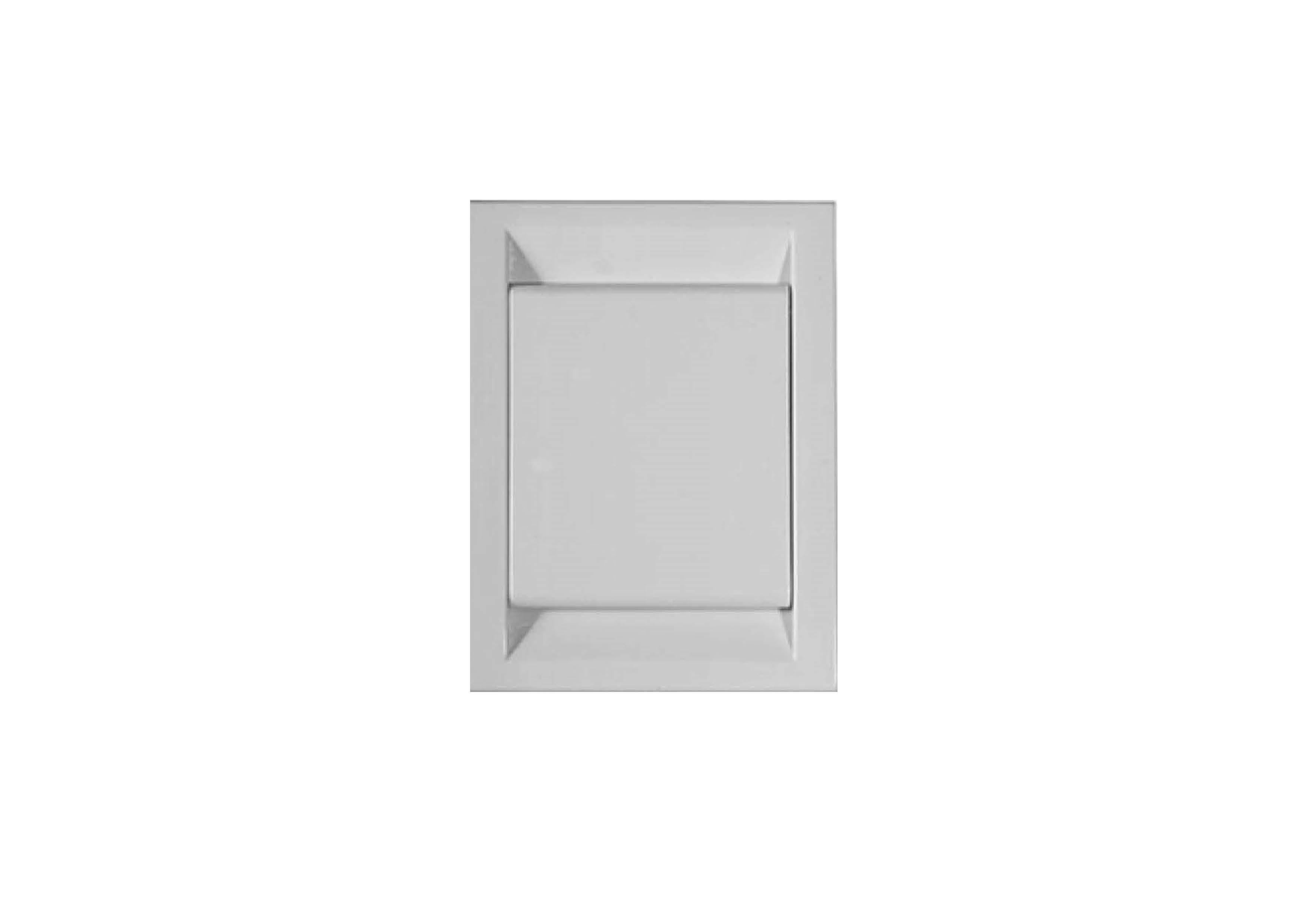 Вакуумна розетка DECO, колір сірий