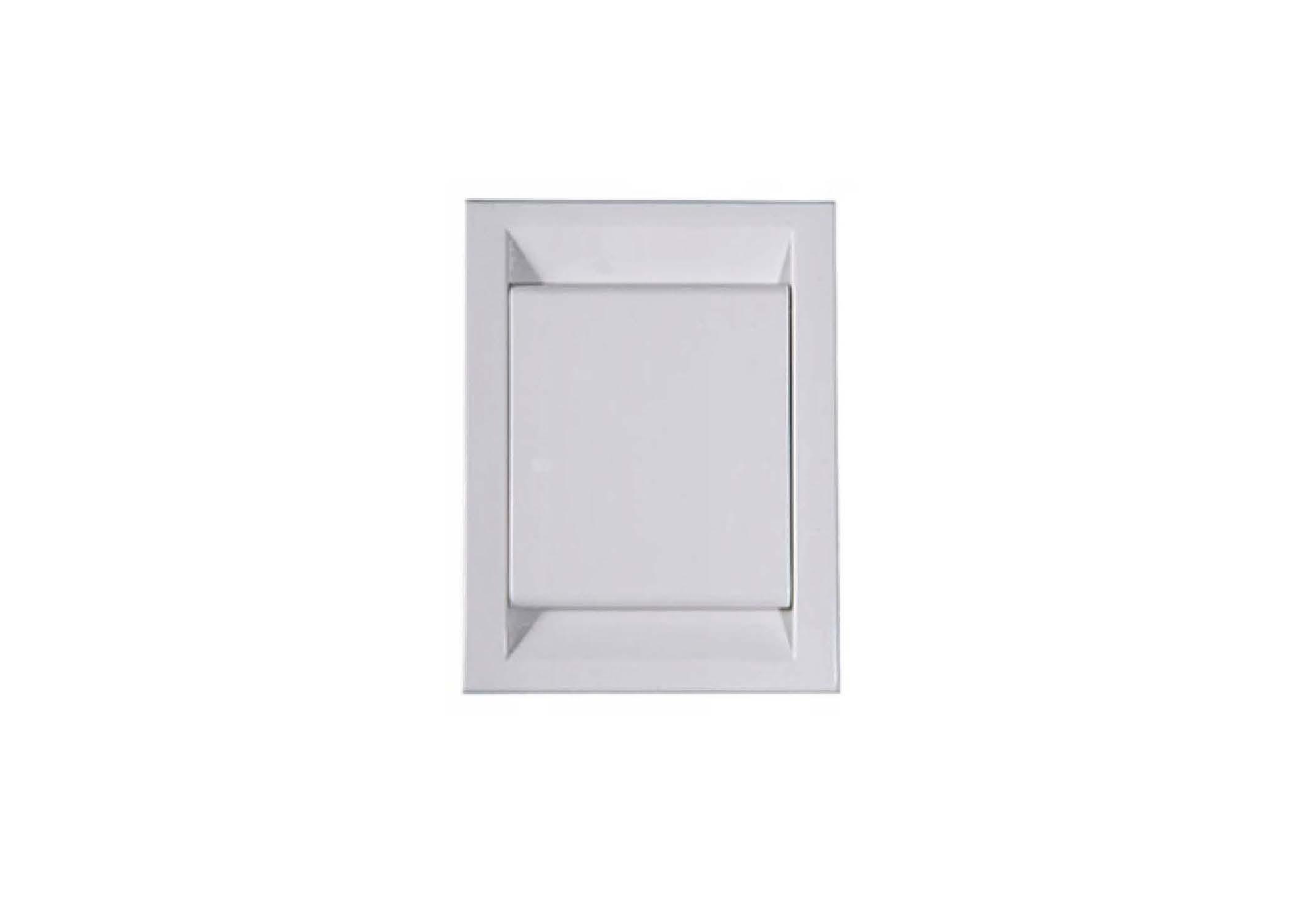 Вакуумна розетка DECO, колір білий