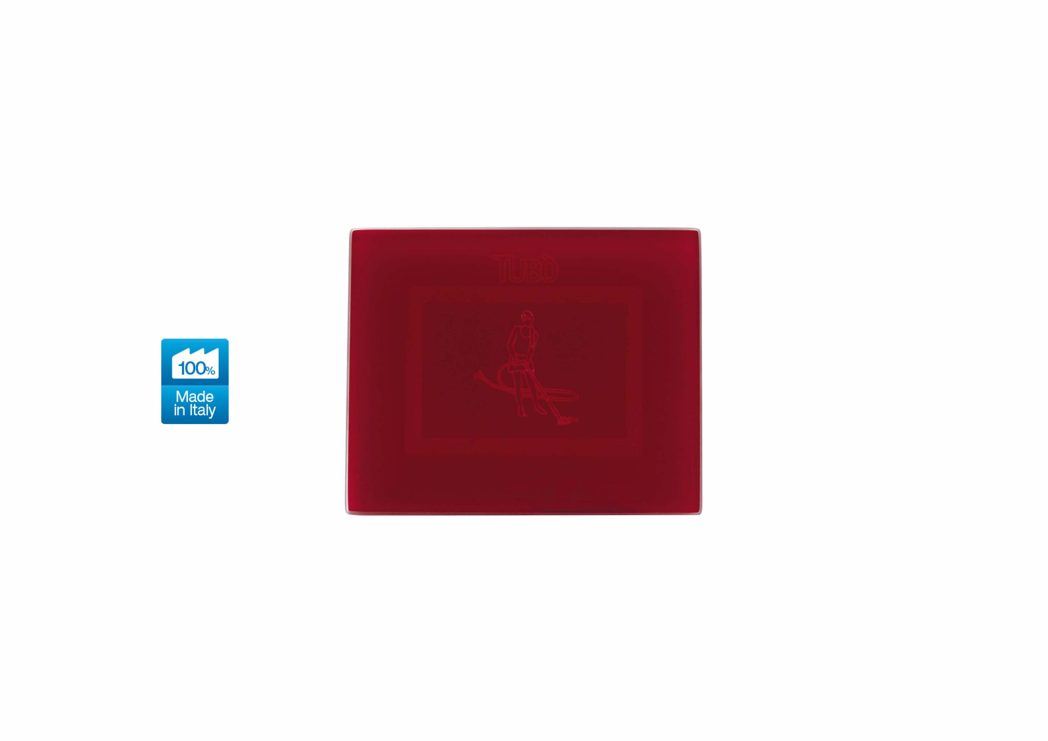 Вакуумна розетка TUBO New Air Touch, Ave Systema 44 Pompei red