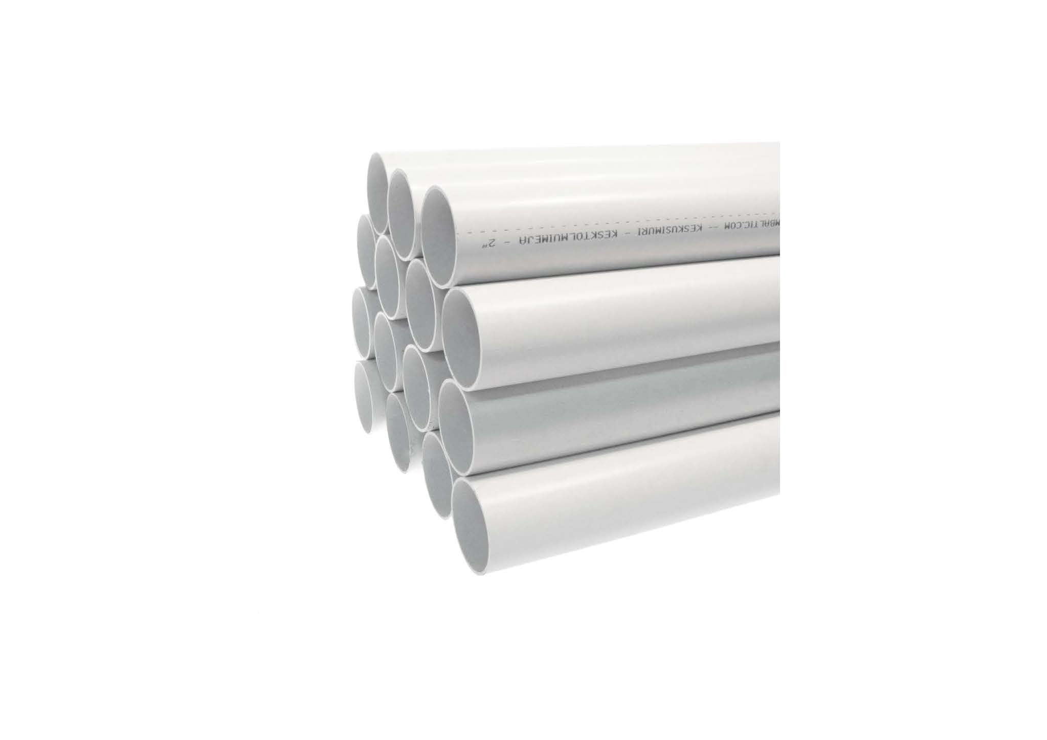 Труба PVC довжиною 2,5 м - ДЛЯ МОНТАЖУ СИСТЕМИ ПИЛОВИДАЛЕННЯ