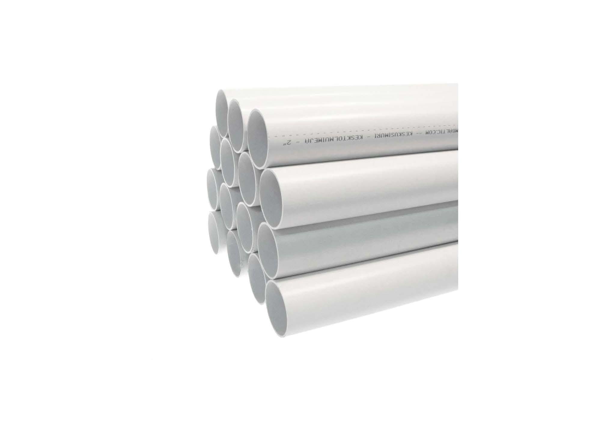 Труба PVC довжиною 2 м - ДЛЯ МОНТАЖУ СИСТЕМИ ПИЛОВИДАЛЕННЯ