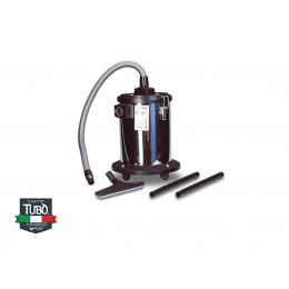 Сепаратор TUBO, об'єм 20 л для збору рідини, виконаний з нержавіючої сталі, аксесуари в комплекті
