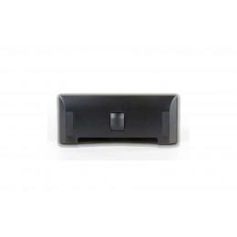 Щілинна вакуумна розетка-совок LEOVAC UNO, колір чорний